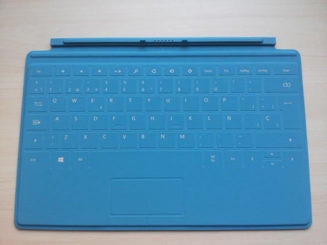 Surface Pro funda táctil