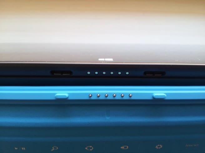 Surface Pro teclado conector