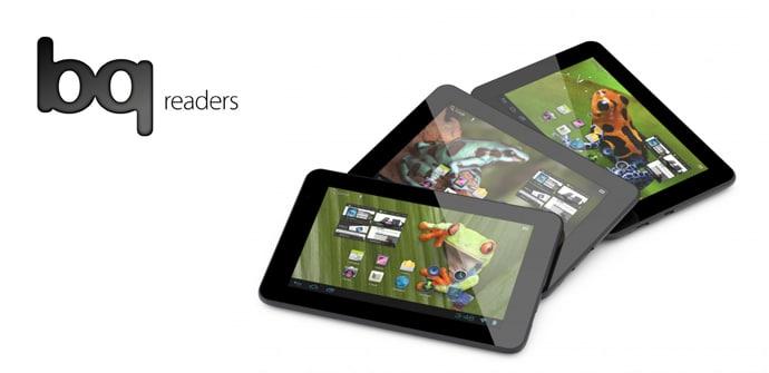 BQ Readers Tablets