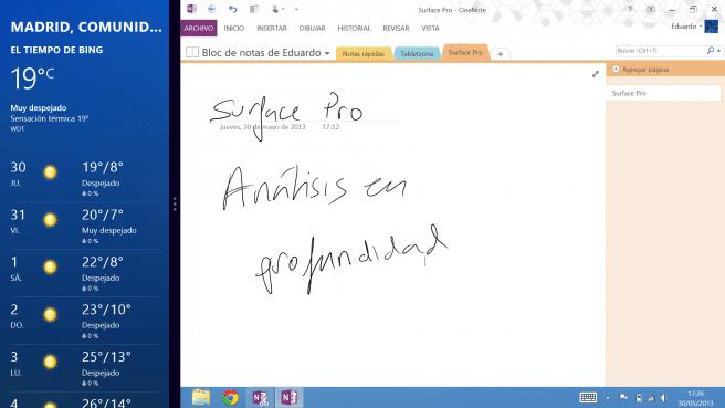 Surface Pro multipantalla