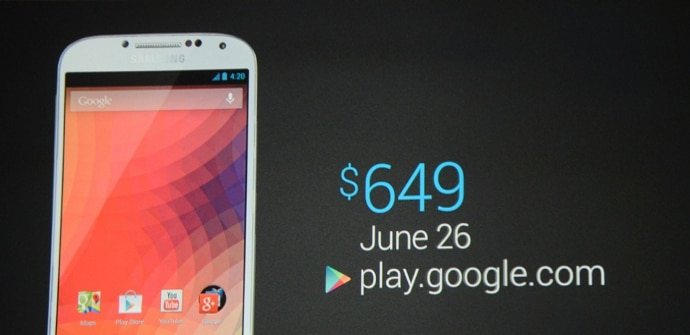 Galaxy S4 Google Edition precio disponibilidad