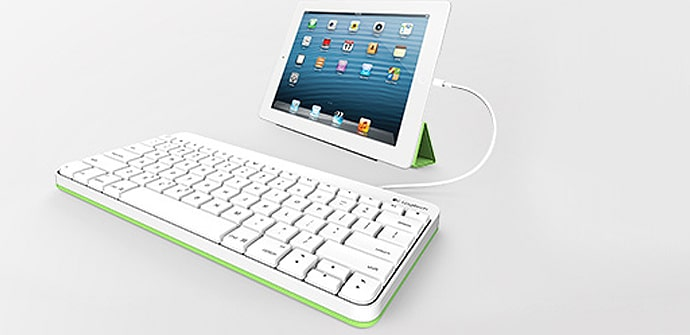 Logitech teclado iPad cable clases