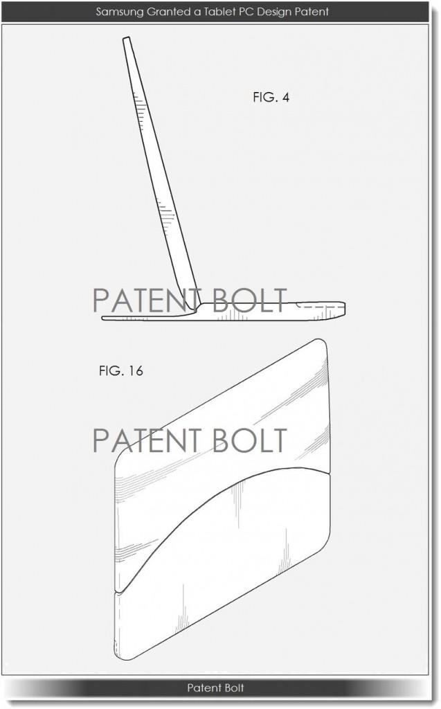 Patente tablet pantalla flexible Samsung (2)