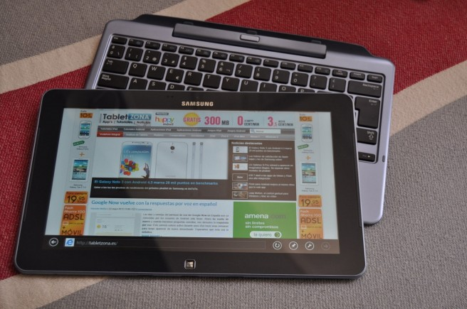 Samsung ATIV con teclado