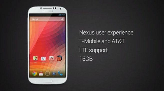 Galaxy S4 Nexus edition