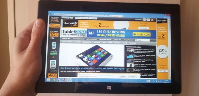 Surface Pro analisis