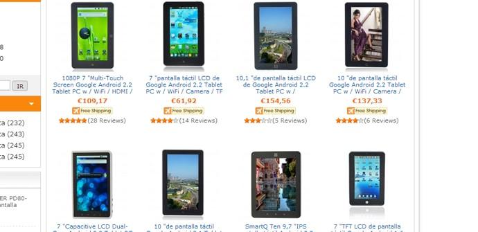 Tablets chinas comprar