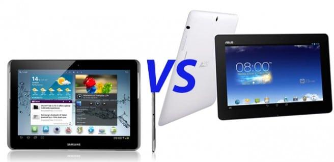 Galaxy Tab 3 101 vs MeMO Pad FHD 10