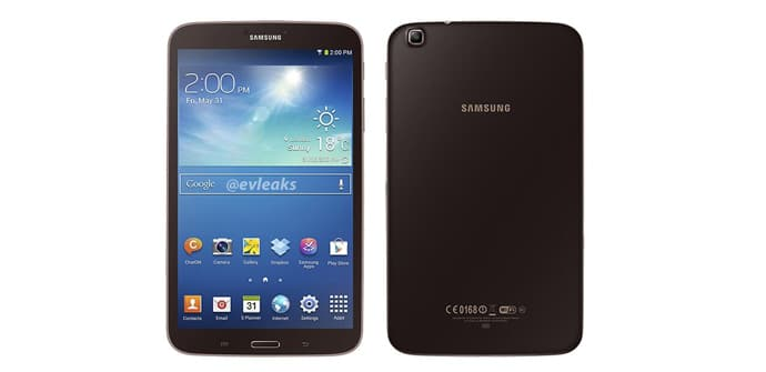 Galaxy Tab 3 8.0 marrón