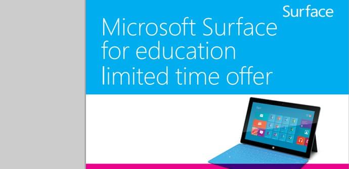 Surface RT oferta educativa