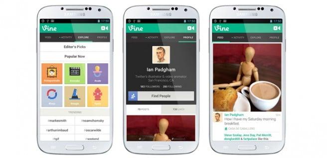 Vine para Android