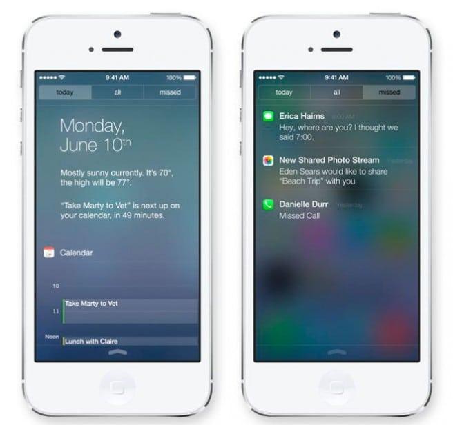 iOS7 notificaciones