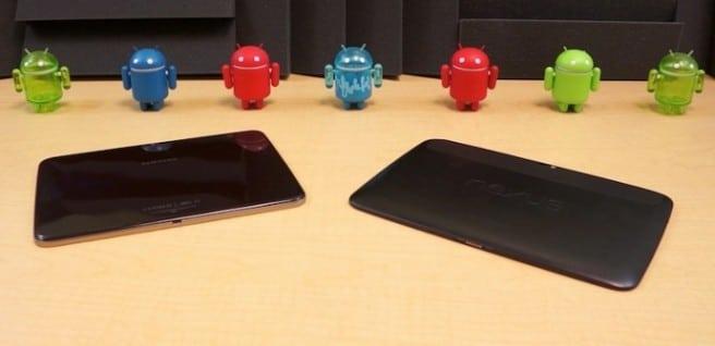 Galaxy Tab 3 10.1 vs Nexus 10