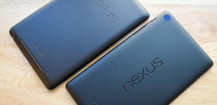 Nexus 7 2012 y 2013