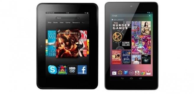 Nexus 7 vs Kindle Fire HD