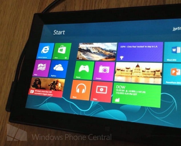 Nokia tableta Windows RT