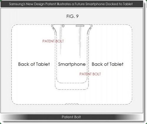 Samsung PadFone Patente 2