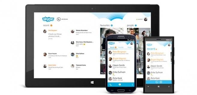 Skype para Android Windows 8
