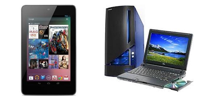 Tablets matan PC