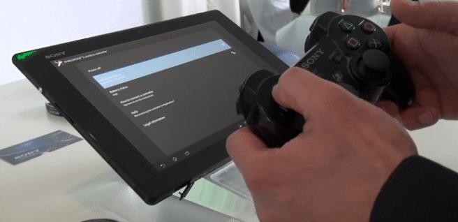 Xperia Tablet Z mando PS3