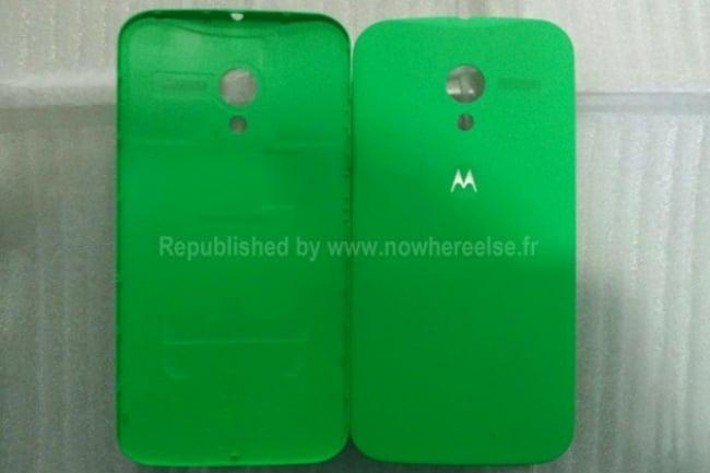 Moto X verde