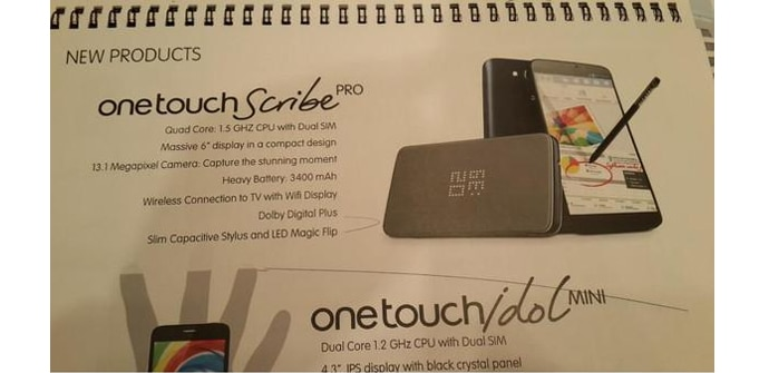 Alcatel One Touch Scribe Pro