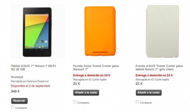 Nexus 7 con 4G