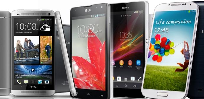 Dispositivos Android 2013