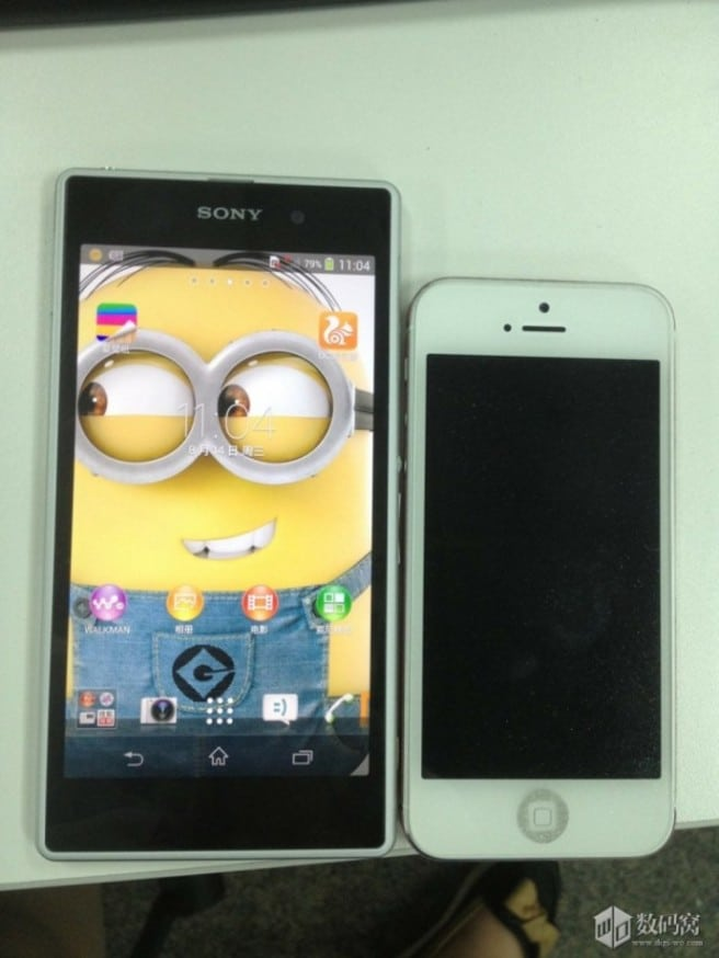 Honami blanco iPhone 5