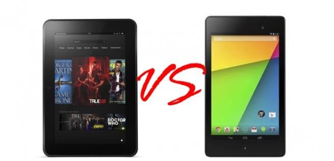 Nexus 7 2013 vs Kindle Fire HD 7