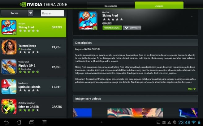 Tegra Zone