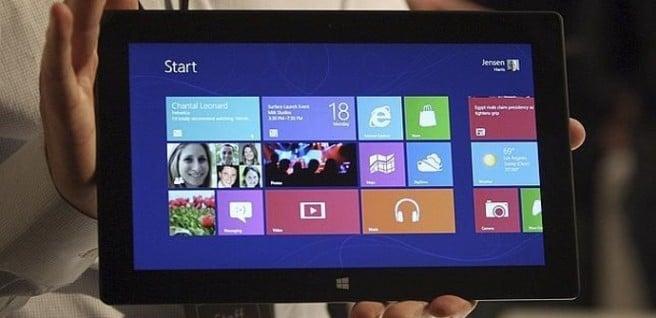 Surface Pro pantalla