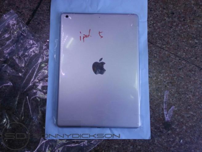 iPad 5 panel trasero exterior