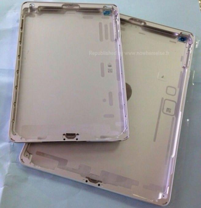 iPad 5 iPad mini plateado