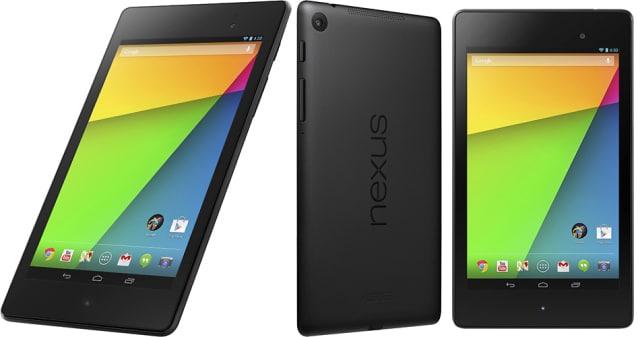 nuevo Nexus 7 comparativa