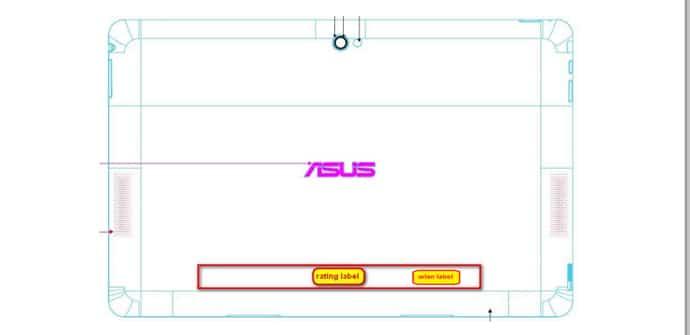 ASUS TF502T FCC