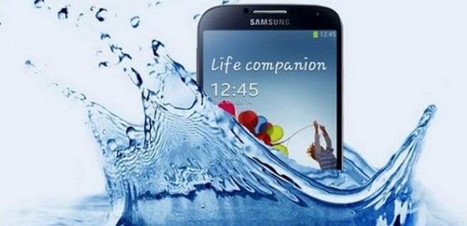 Galaxy S4 Active Agua