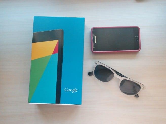 Nexus 7 (2013) camara trasera