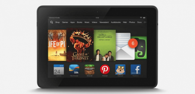 Kindle Fire HDX Fire OS