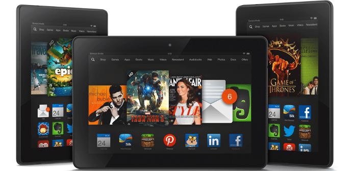 Kindle Fire HDX lanzamiento