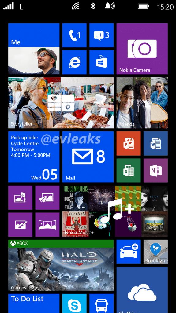 Nokia Bandit Lumia 1520 screenshot