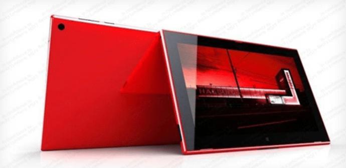 Tableta Nokia roja