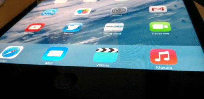 iOS 7 en iPad mini prueba
