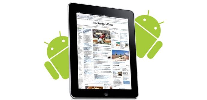 tablets Android superan iPad