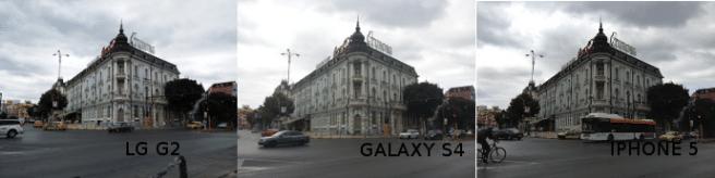CAMARA LG G2 vs GALAXY S4 vs IPHONE 5