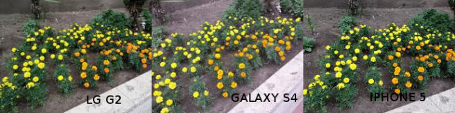 FOTOGRAFIA LG G2 vs GALAXY S4 vs IPHONE 5