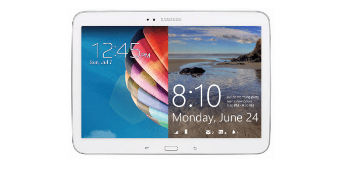 Galaxy Tab Windows Android