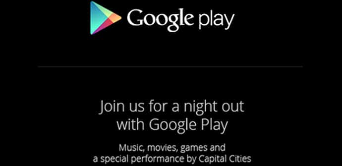 Google Play Night Out