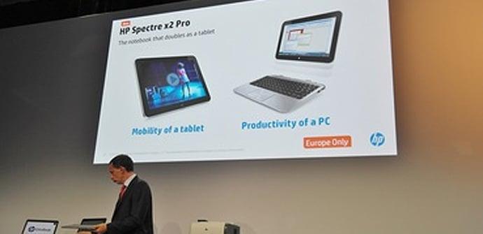 HP Spectre X2 Pro presentada