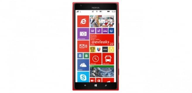Lumia 1520 rojo
